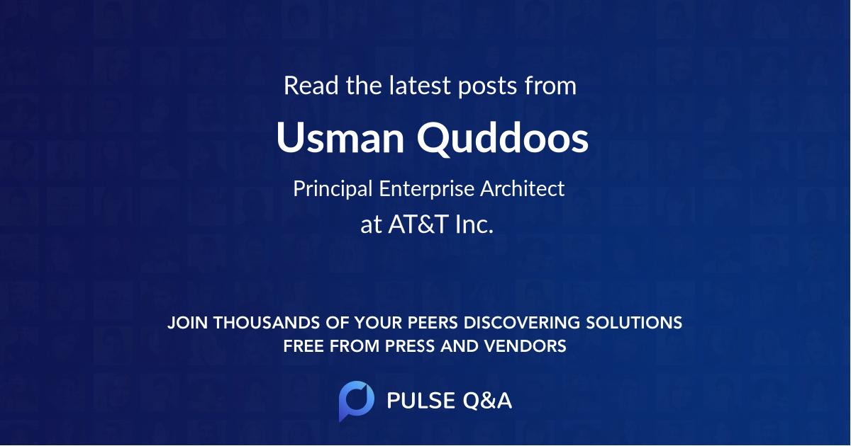Usman Quddoos