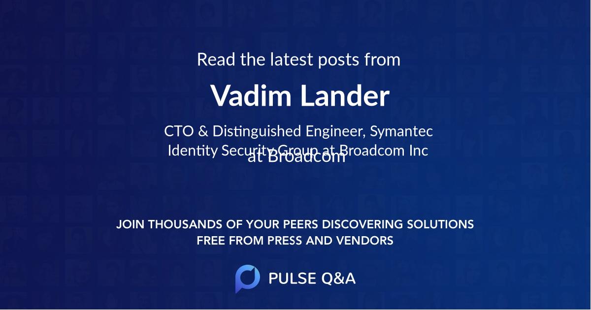 Vadim Lander
