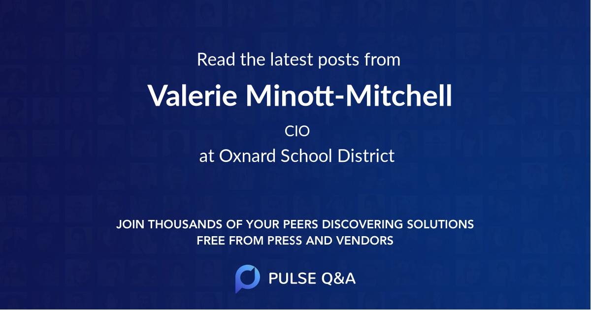 Valerie Minott-Mitchell
