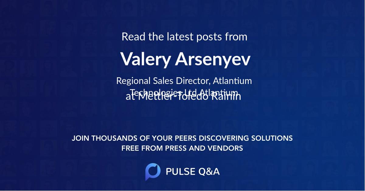 Valery Arsenyev