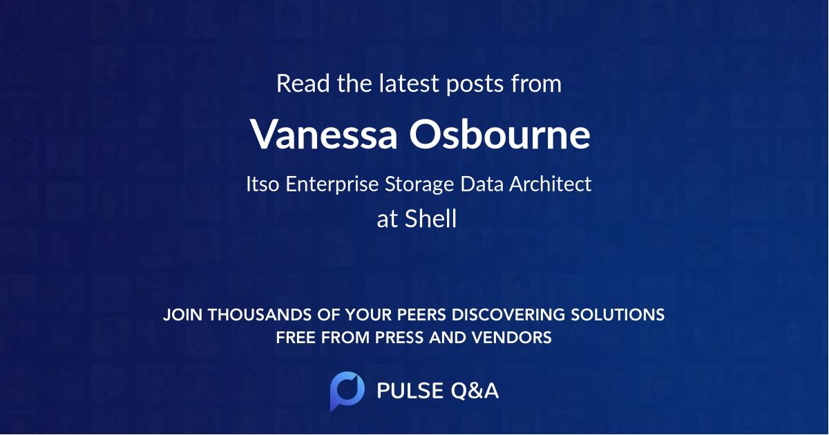 Vanessa Osbourne