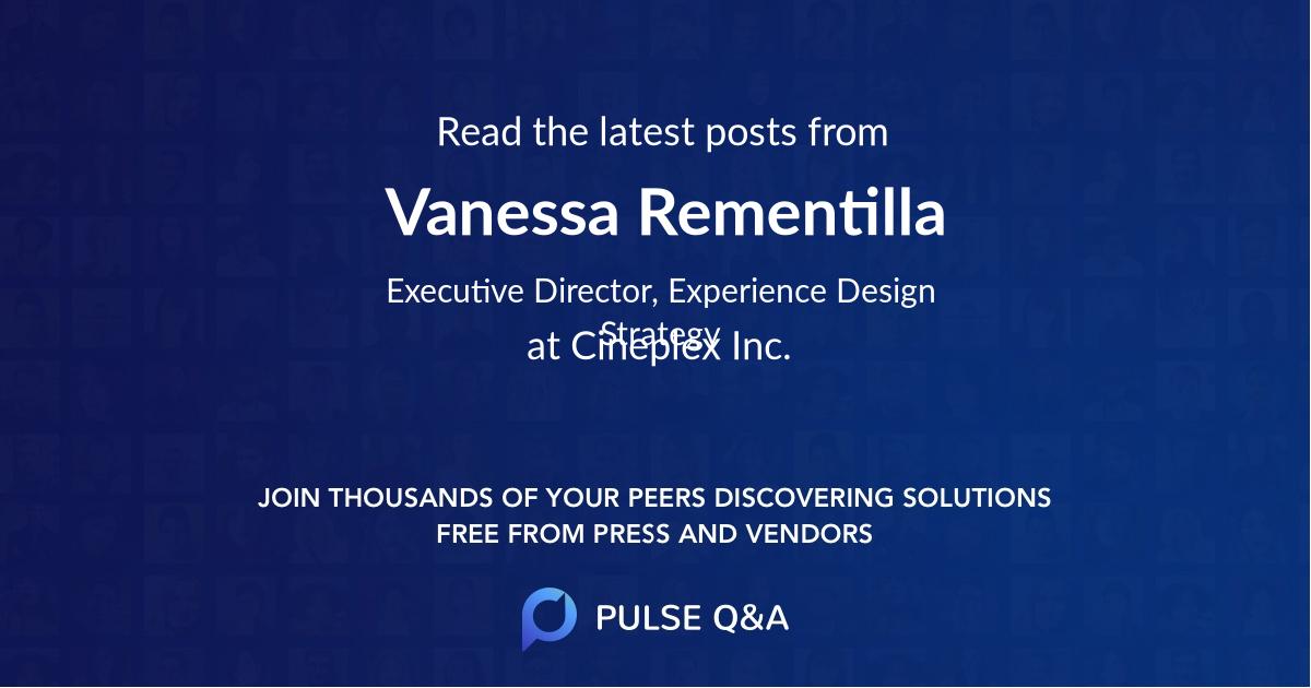 Vanessa Rementilla