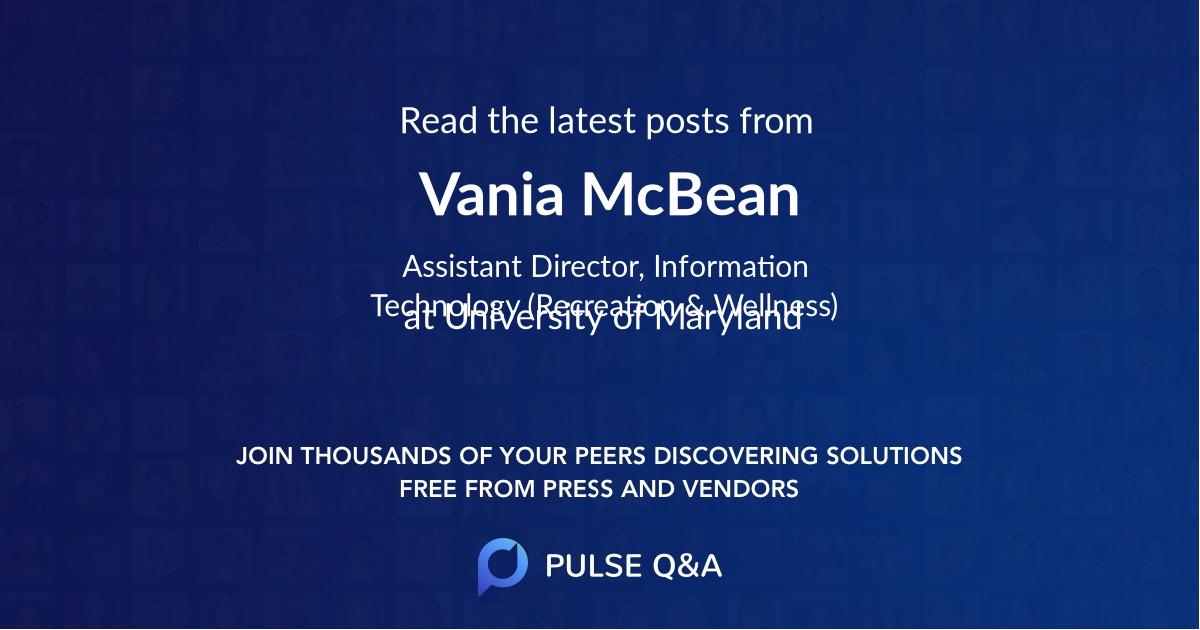 Vania McBean