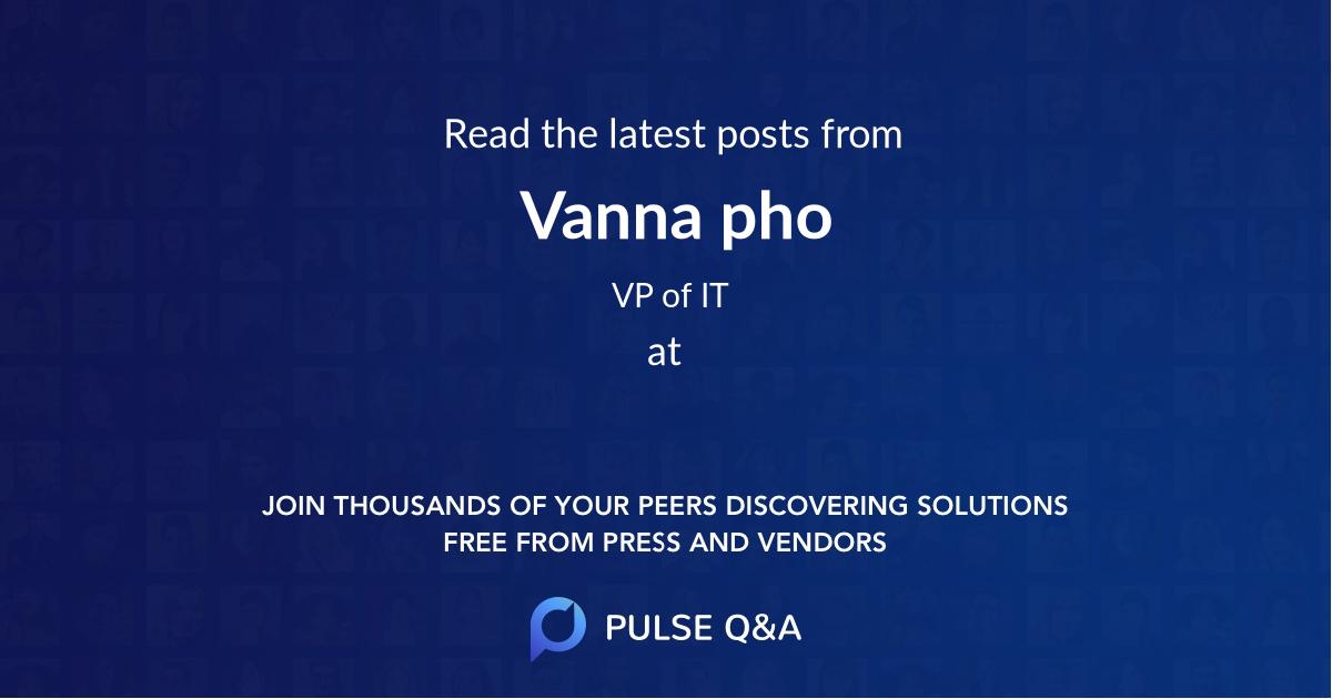 Vanna pho
