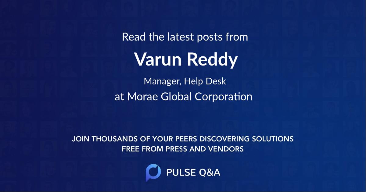 Varun Reddy