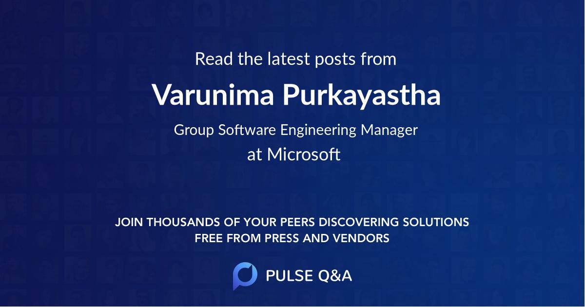 Varunima Purkayastha