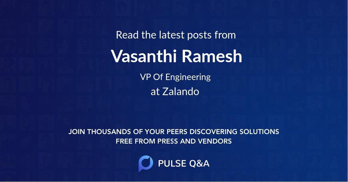 Vasanthi Ramesh