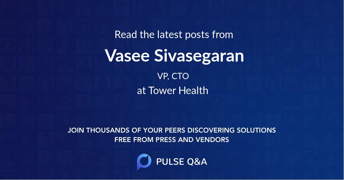 Vasee Sivasegaran