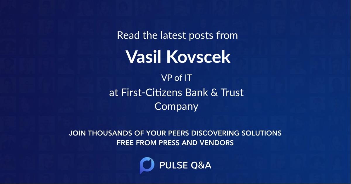 Vasil Kovscek