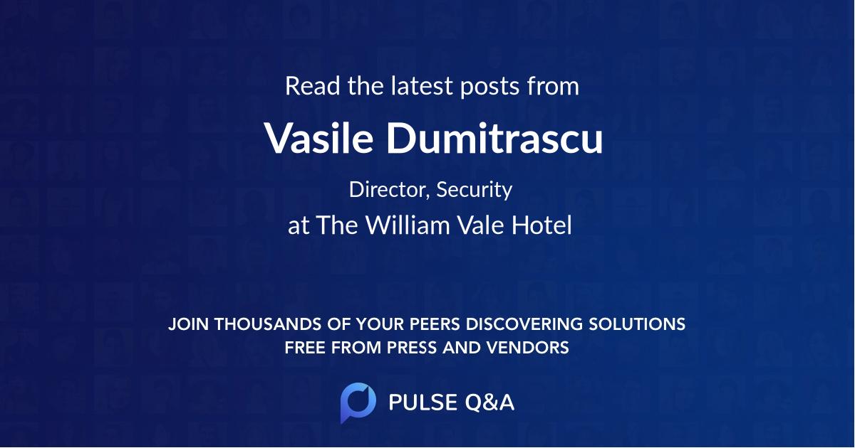Vasile Dumitrascu