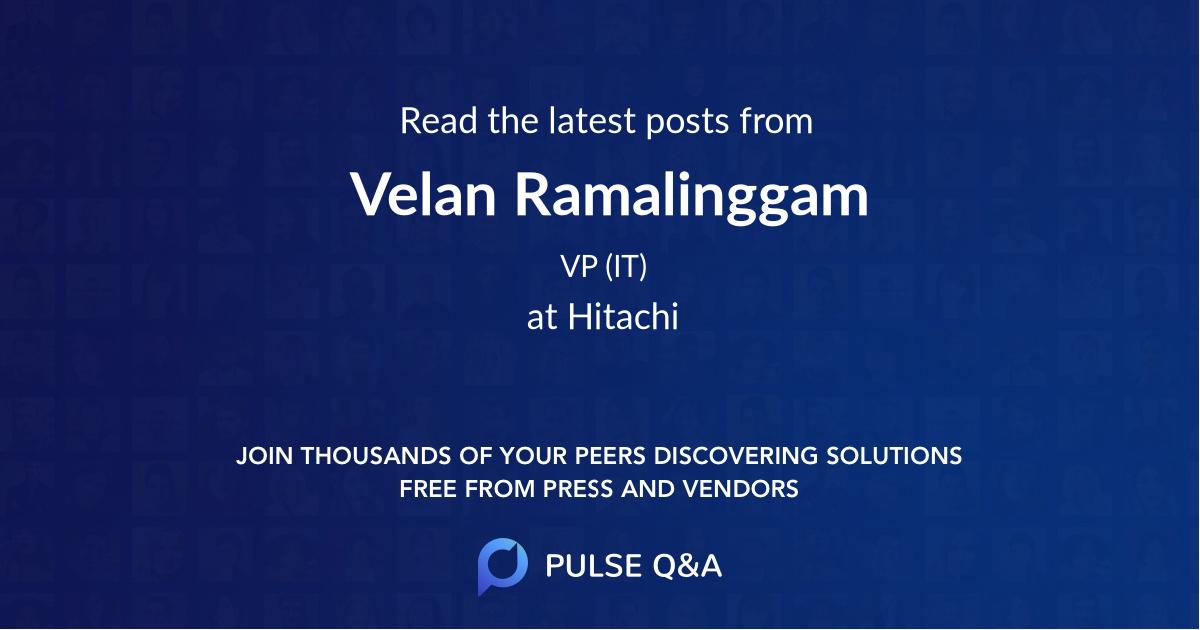 Velan Ramalinggam