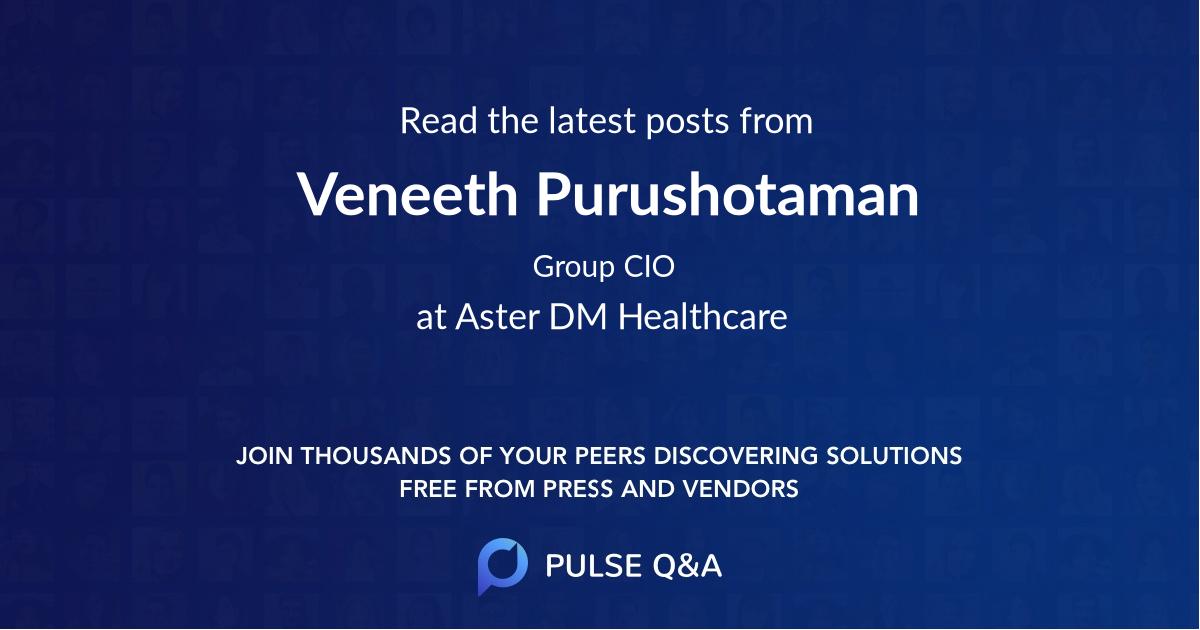 Veneeth Purushotaman