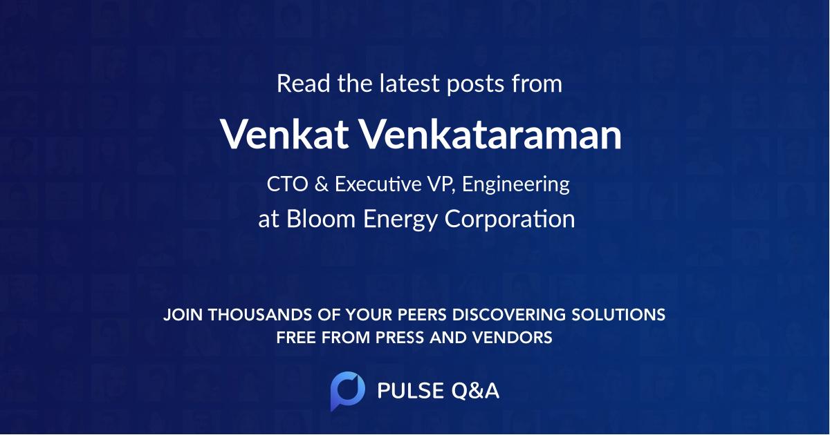 Venkat Venkataraman