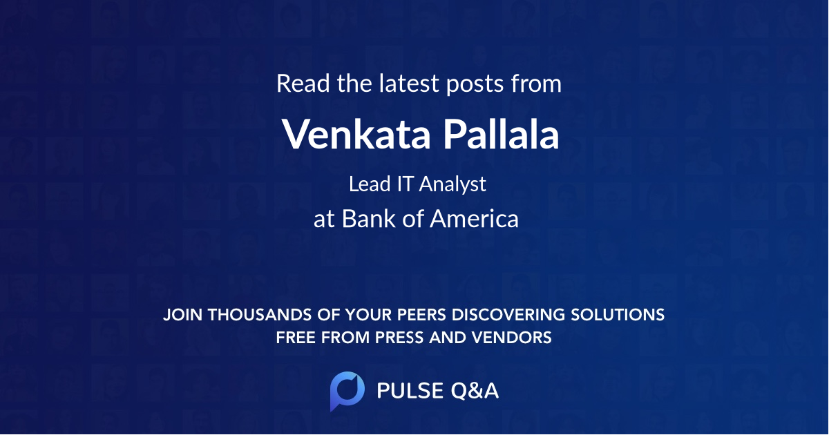 Venkata Pallala