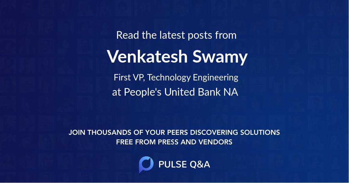 Venkatesh Swamy