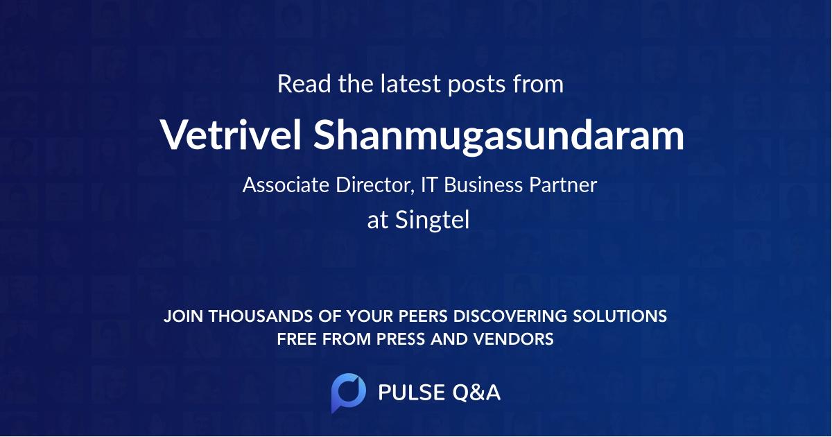 Vetrivel Shanmugasundaram