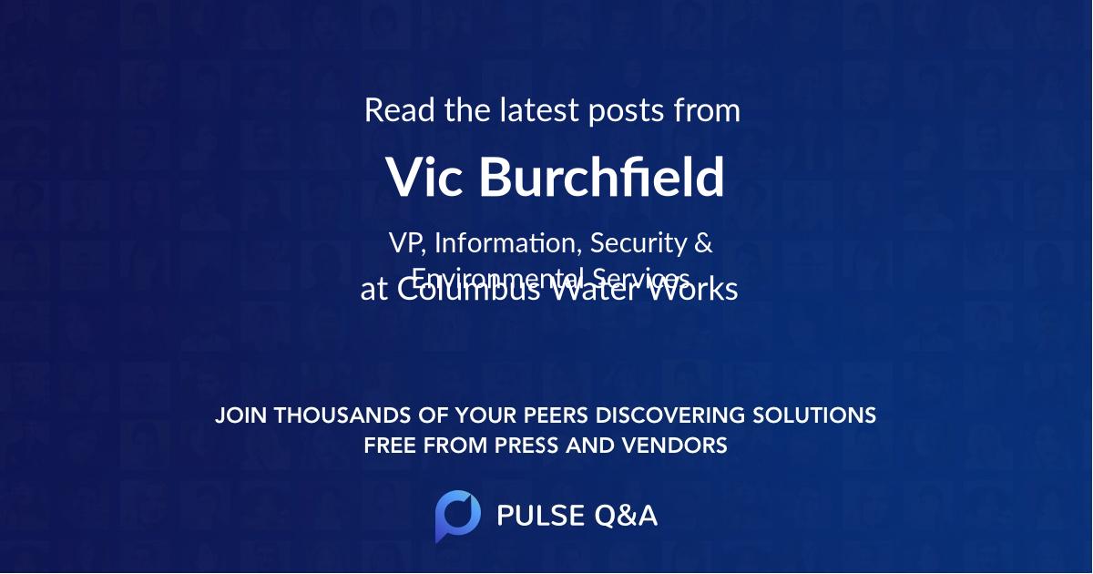 Vic Burchfield