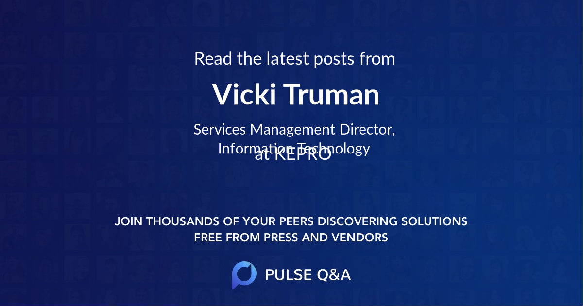 Vicki Truman