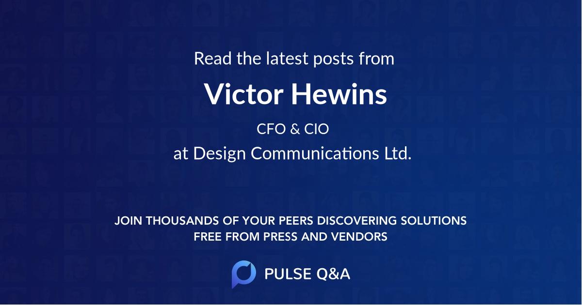 Victor Hewins