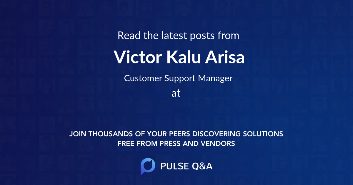Victor Kalu Arisa
