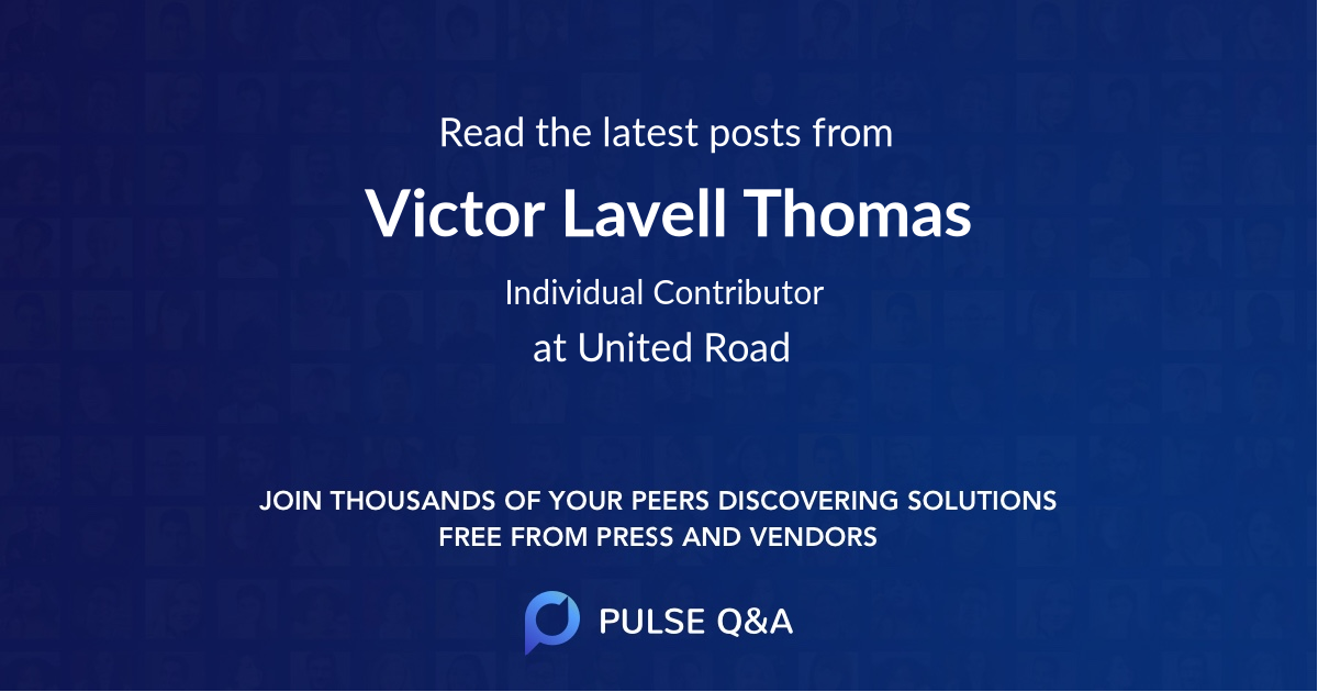 Victor Lavell Thomas
