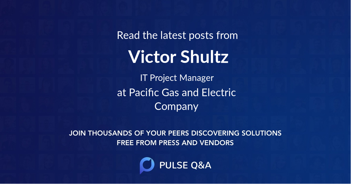 Victor Shultz