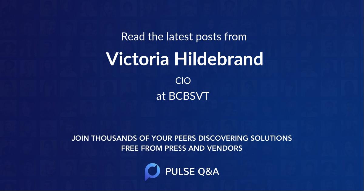 Victoria Hildebrand