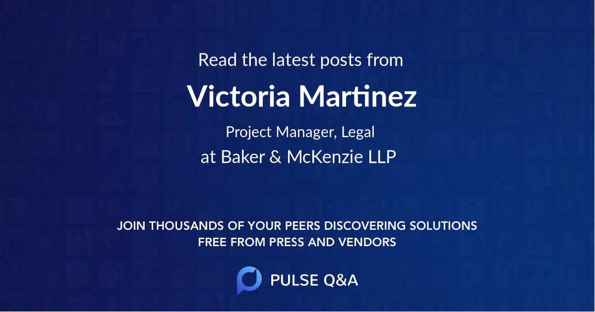 Victoria Martinez