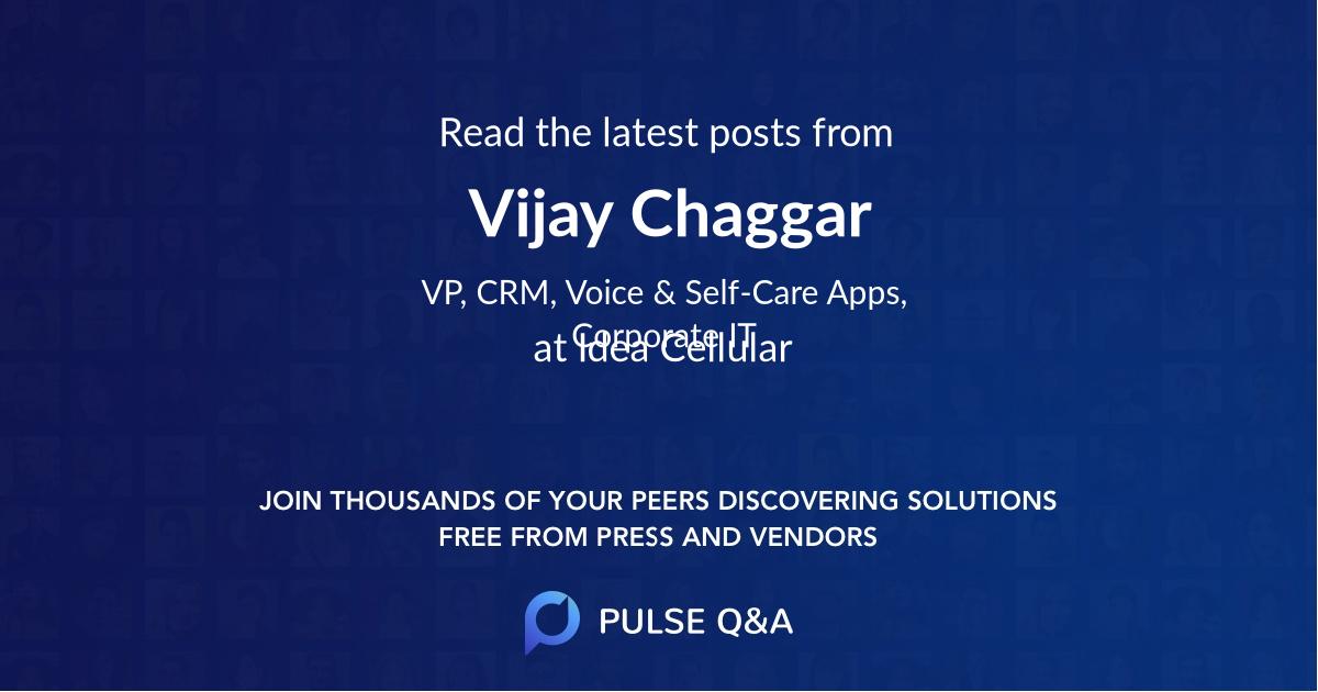Vijay Chaggar