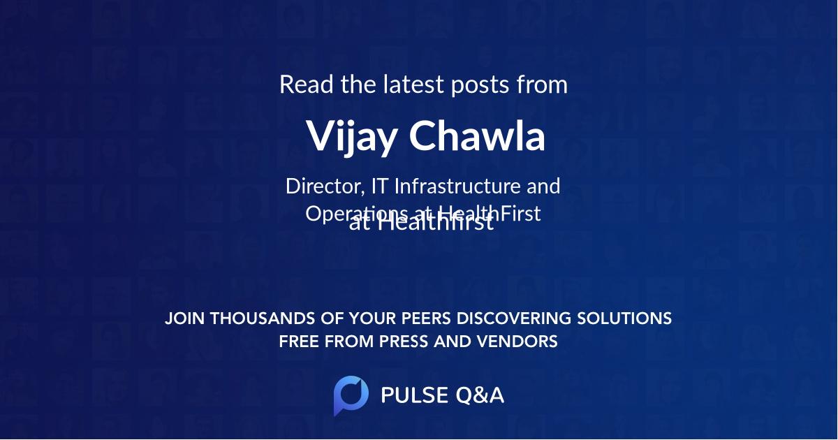 Vijay Chawla