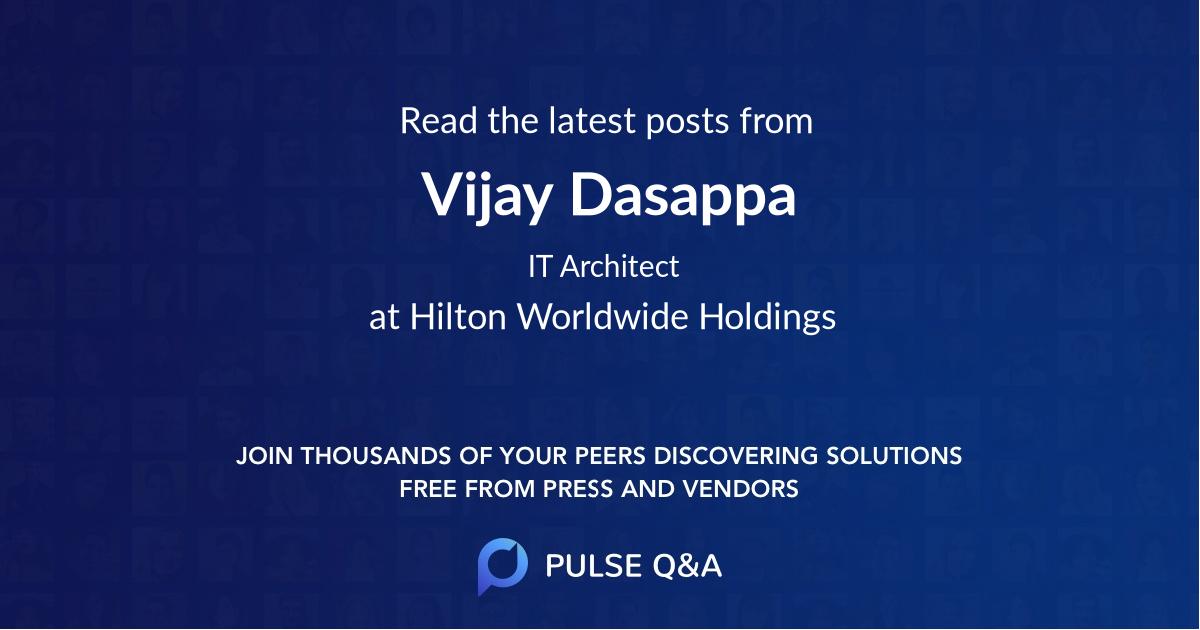 Vijay Dasappa
