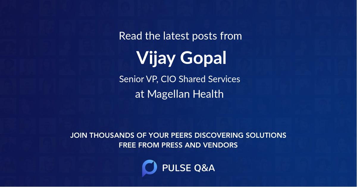 Vijay Gopal