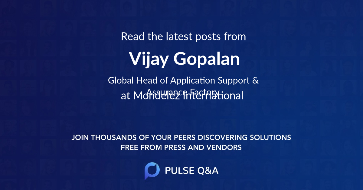 Vijay Gopalan