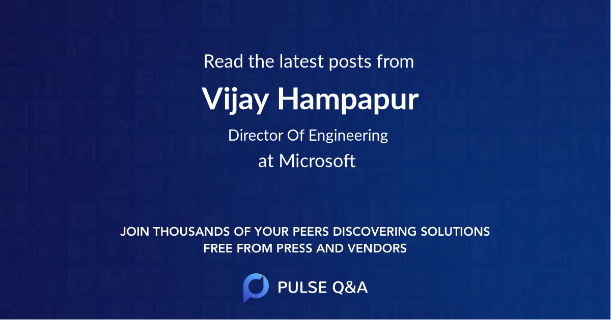 Vijay Hampapur