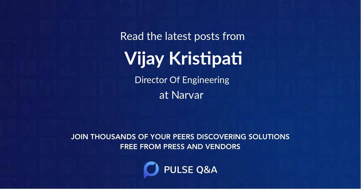 Vijay Kristipati