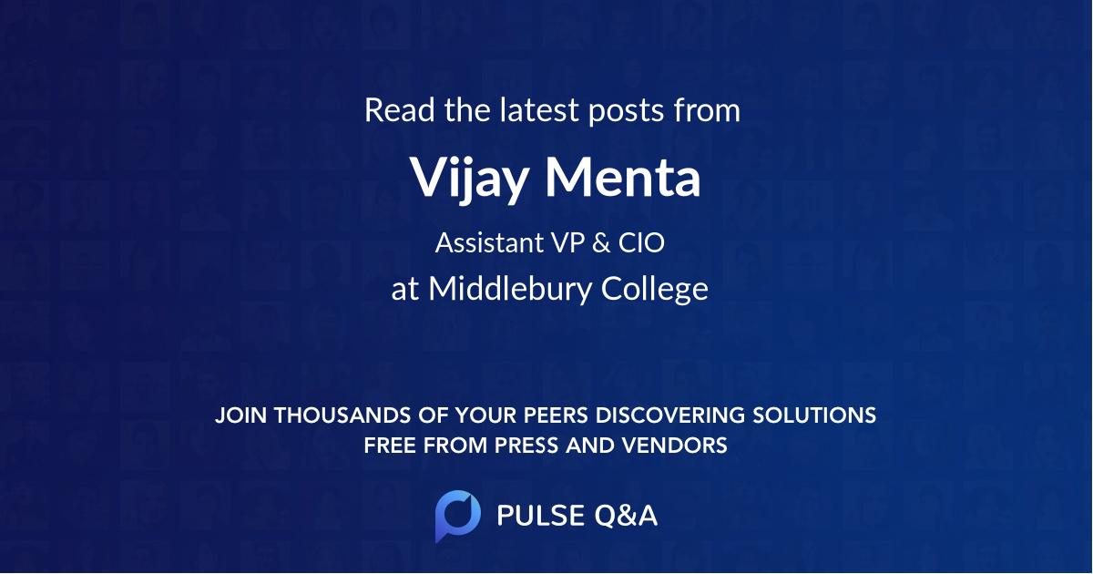Vijay Menta