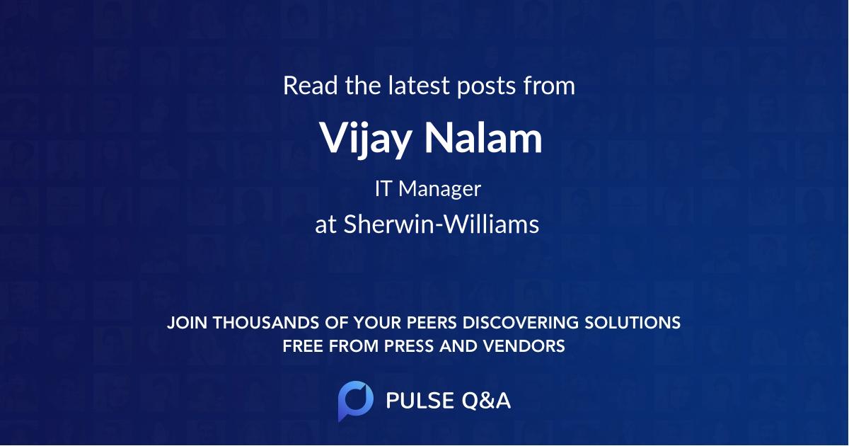 Vijay Nalam