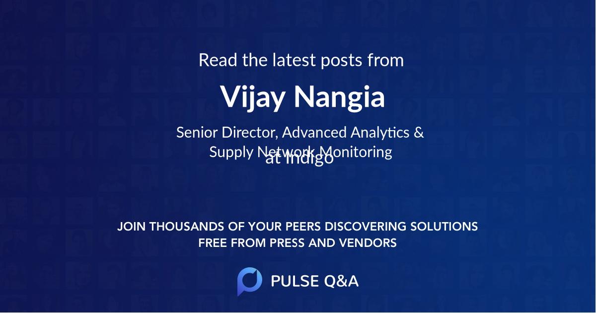 Vijay Nangia