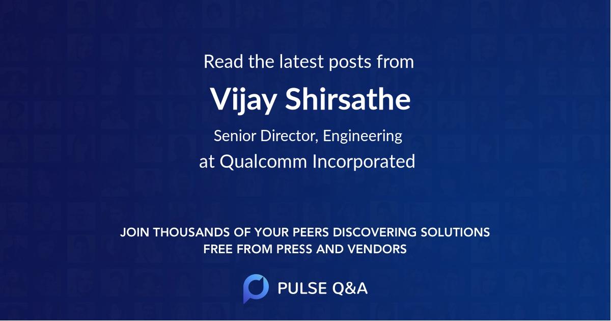 Vijay Shirsathe