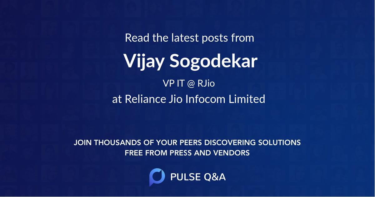 Vijay Sogodekar