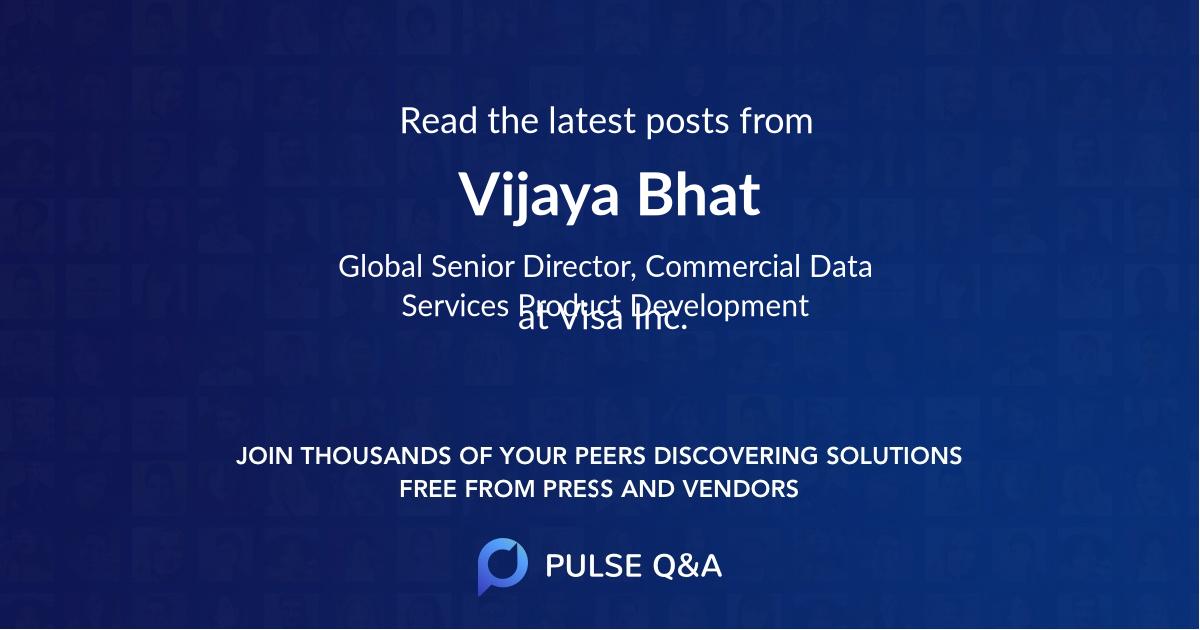 Vijaya Bhat