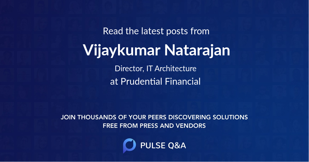 Vijaykumar Natarajan