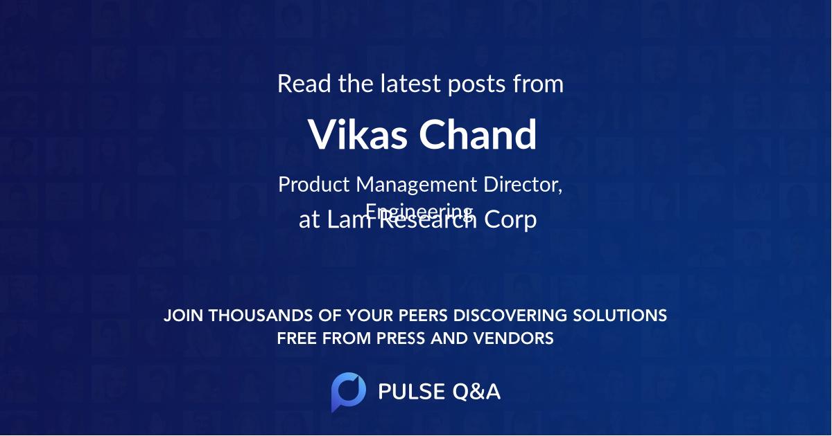 Vikas Chand