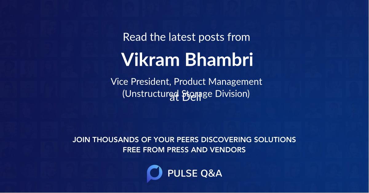 Vikram Bhambri
