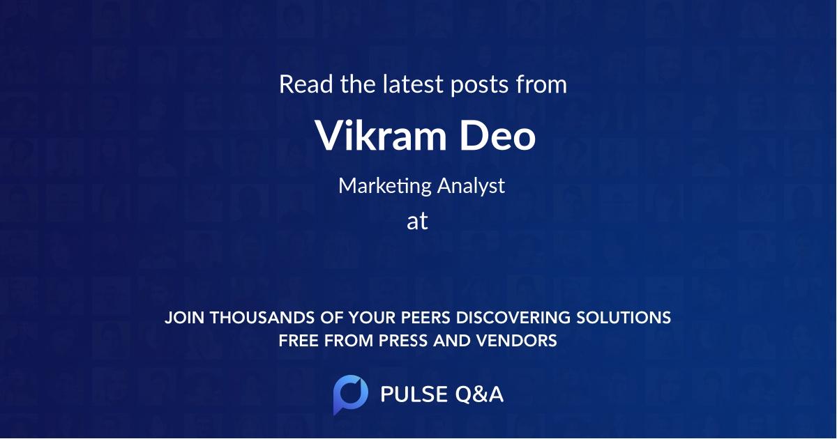 Vikram Deo