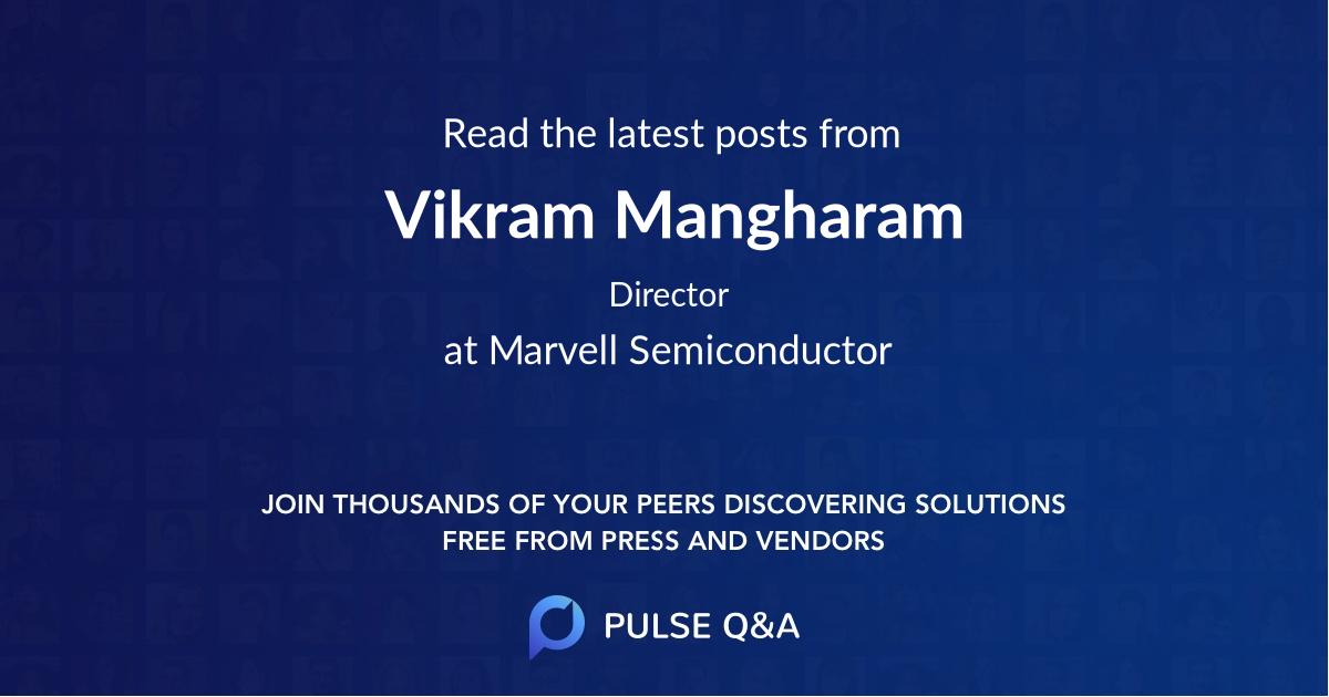 Vikram Mangharam