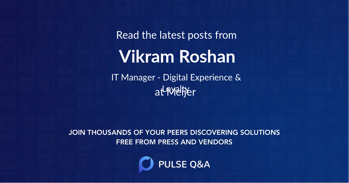Vikram Roshan