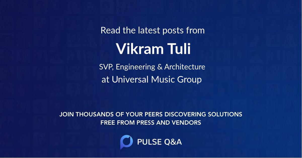 Vikram Tuli