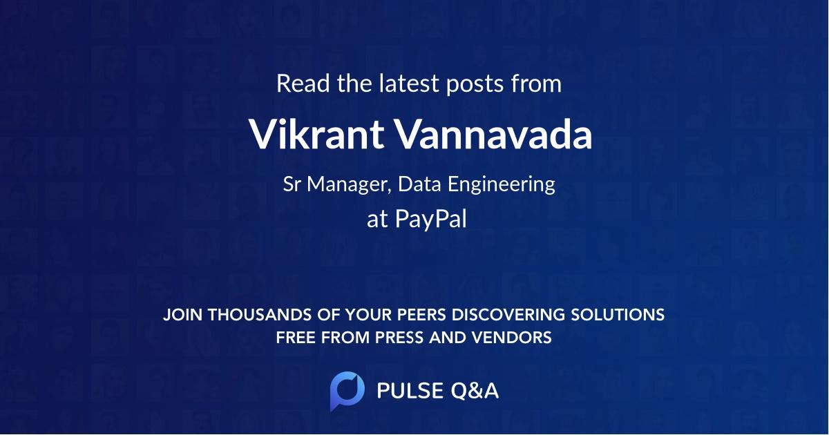 Vikrant Vannavada