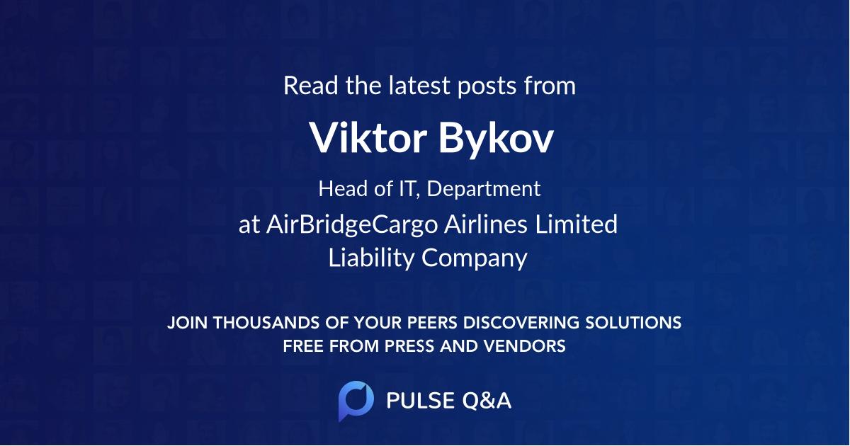 Viktor Bykov